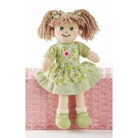 Delton Products Corporation Softie Apple Dumpling Doll Green