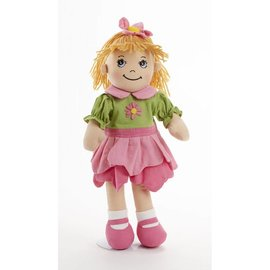 Delton Products Corporation Softie Apple Dumpling Doll Petal Pink