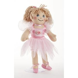 Delton Products Corporation Softie Apple Dumpling Fairy Doll Pink