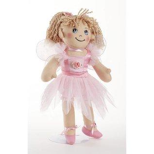 Delton Products Corporation Softie Apple Dumpling Fairy Doll Pink
