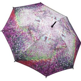Galleria Stick Umbrella Monet's Garden