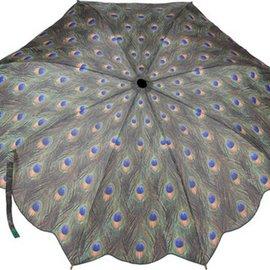 Galleria Folding Umbrella Peacock