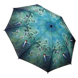 Galleria Folding Umbrella Hummingbirds