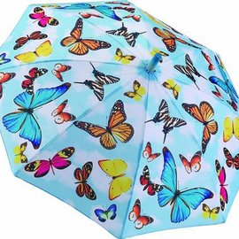 Galleria Children's Umbrella Flutter By Butterflies