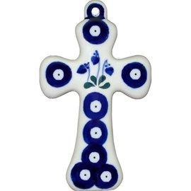 Ceramika Artystyczna Cross Size 2 Royal Hanging Hearts