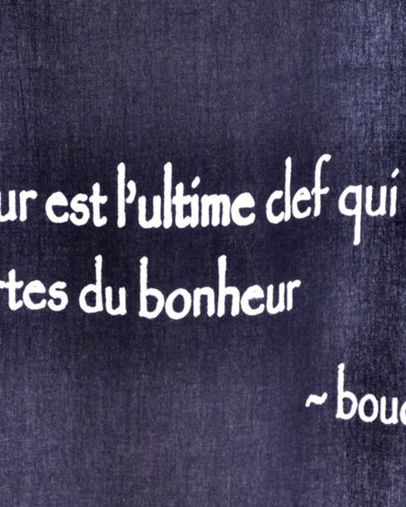 TOILE CITATION BOUDHA  #24