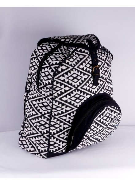 SHANTI BLACK BAG BACKPACK ANKARA 192