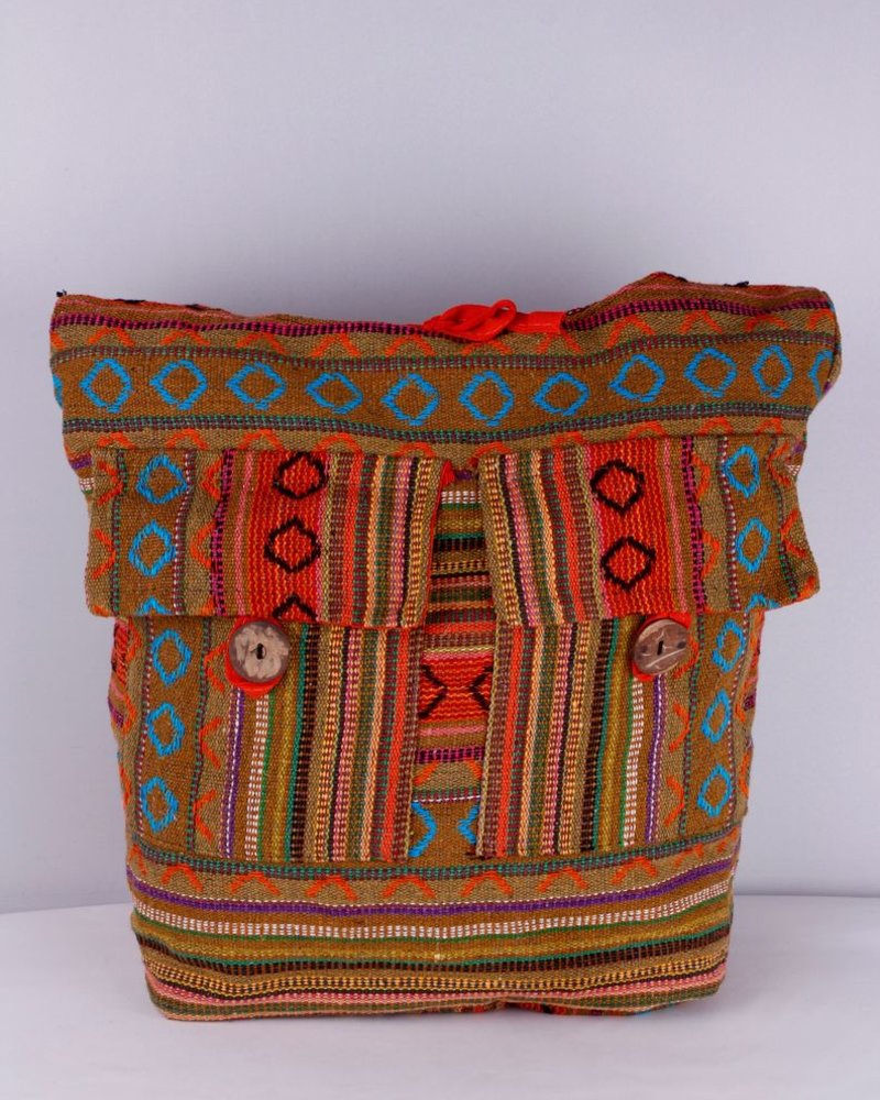 SHANTI CAIRO BAG ORANGE 383