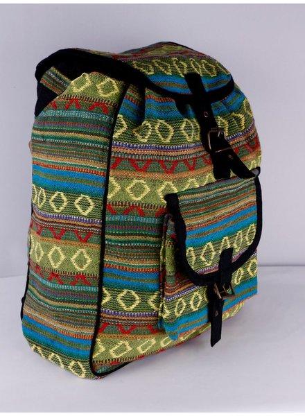 SHANTI BAG BACKPACK DAKAR GREEN 485