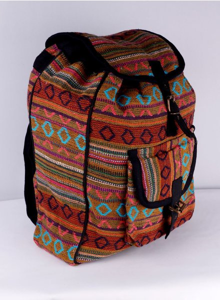 SHANTI KHAKI BACKPACK BAG DAKAR 480