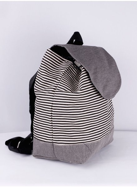 SIENNA BACKPACK BAG LINED GRAY