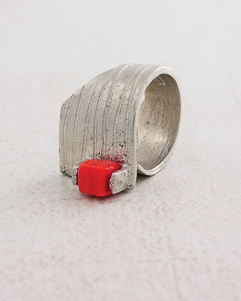 ANNE MARIE CHAGNON CHAGNON RING HERTALI RED