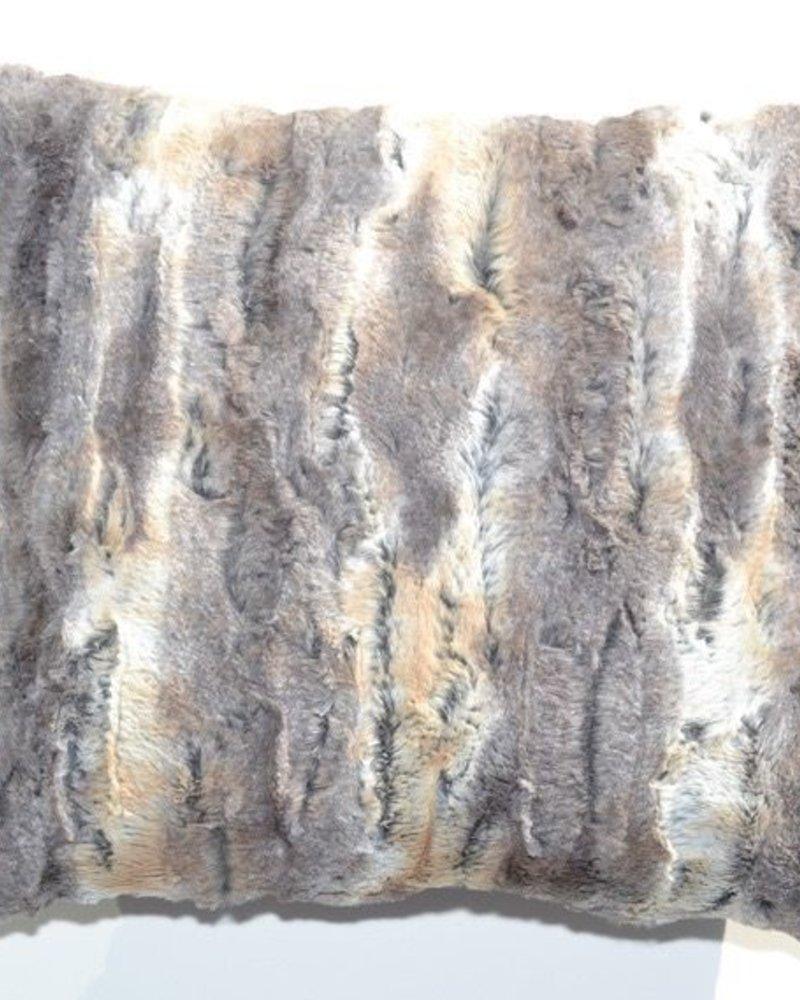 BALUCHON BALUCHON COUSSIN FOURRURE BEIGE