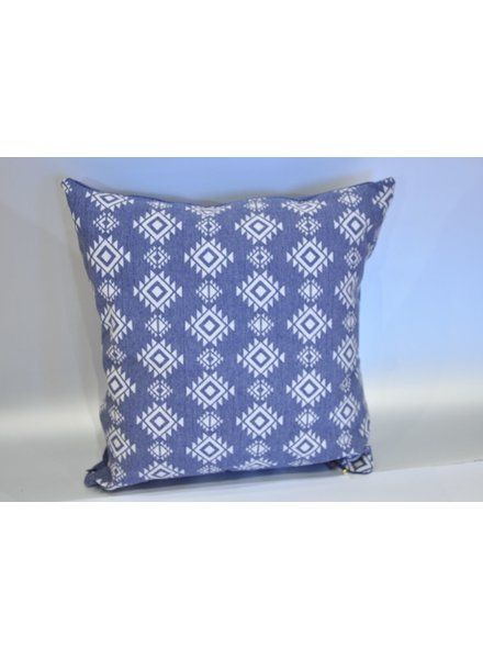 MESSAGE FACTORY MESSAGE COUSSIN DAKOTA BLEU CHINÉ/INDIGO