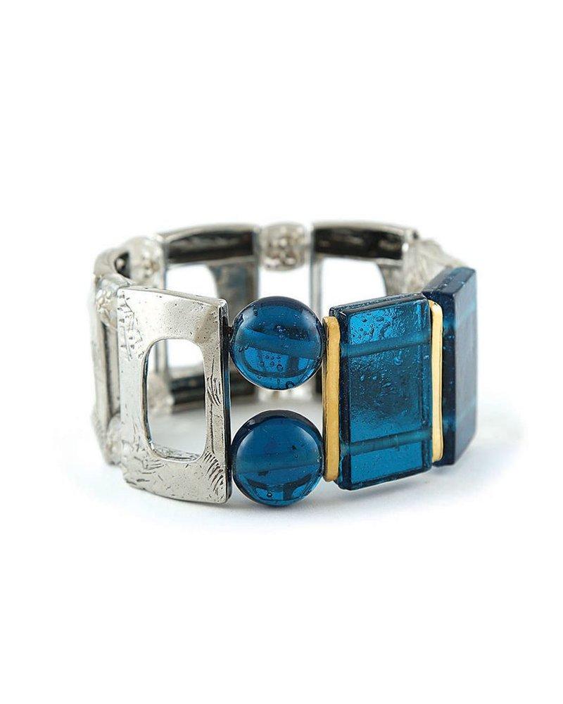 ANNE MARIE CHAGNON CHAGNON BRACELET NADINE BLUE
