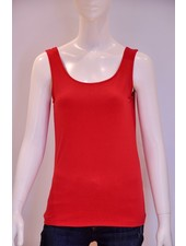 VIVA CAMI BASIC ROUGE O/S