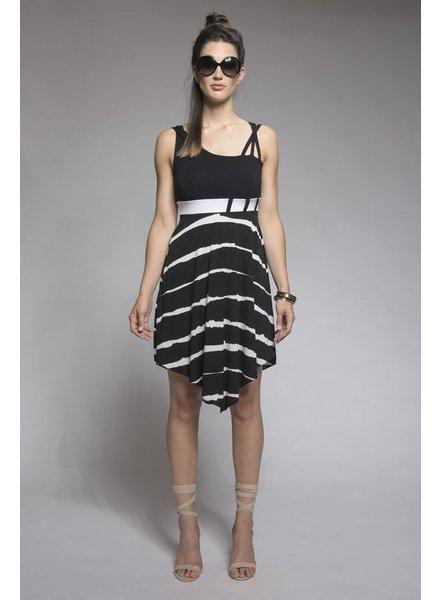 MYCO ANNA MYCO KALIMBA DRESS BLACK / WHITE