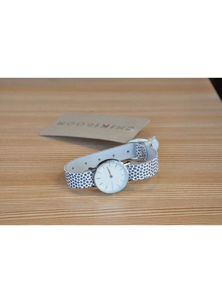 CHIKIBOOM CHIKIBOOM WATCH SIMPLE TEXTURED BRACELET