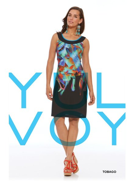 LUC FONTAINE YULVOY TOBAGO DRESS