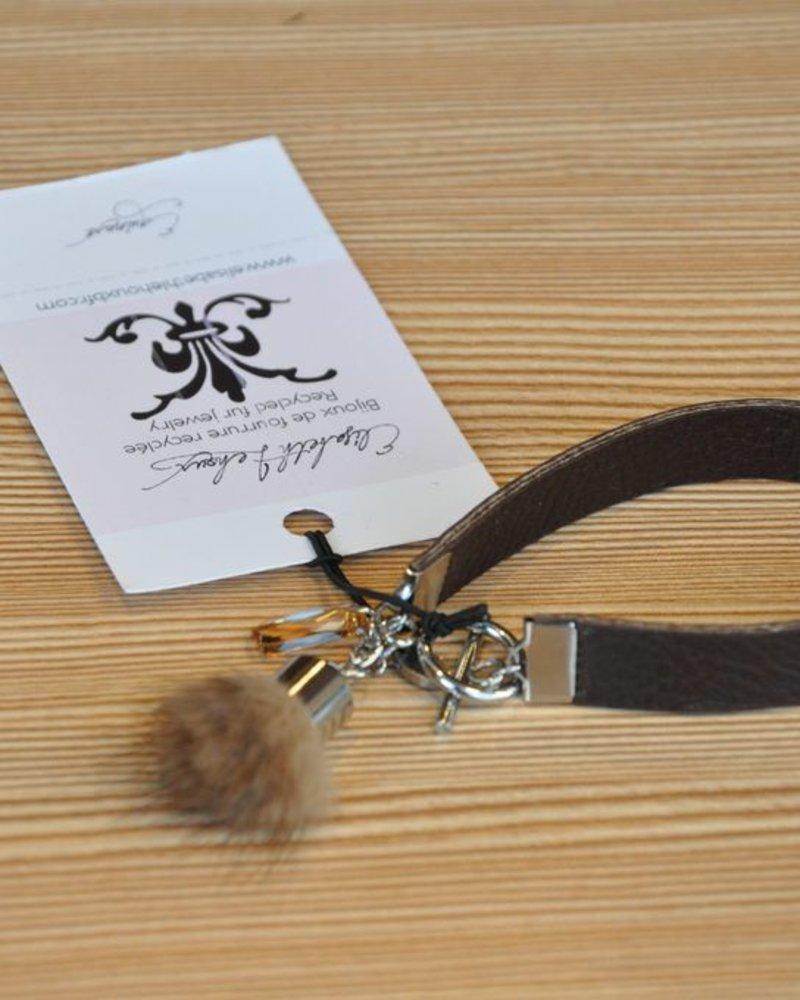 ELISABETH LEHOUX LEHOUX BRACELET EQUINOXE SMALL BRUN
