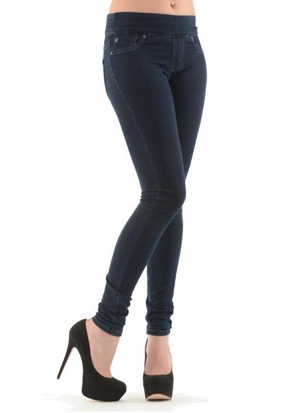 BECXY B. BECXY JEANS RILEY 4001-9949-00 SKINNY PULL ON 24