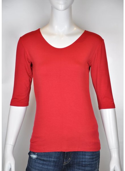 VIVA SWEATER M 3/4 RED