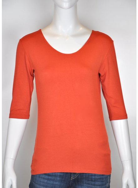 VIVA M 3/4 ORANGE SWEATER