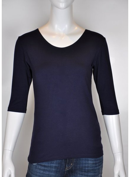 VIVA M 3/4 NAVY SWEATER