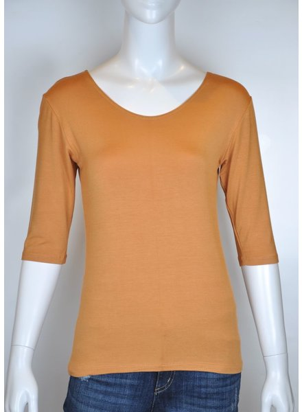 VIVA SWEATER M 3/4 CARAMEL