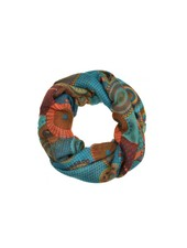 CARACOL FOULARD TRIANGLE DES BERMUDES TURQUOISE
