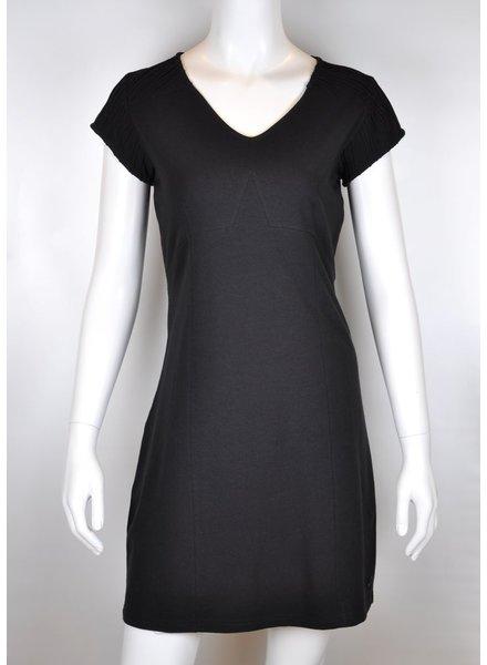SKUNKFUNK FUNK DRESS MAAIKE BLACK