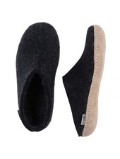 GLERUPS GLERUP SLIPPER CHARCOAL