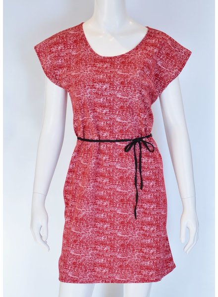 GROUND RED BERLIN DRESS