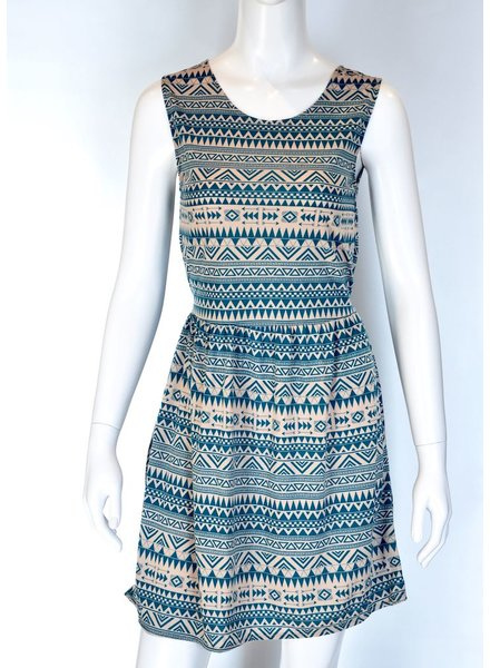 SOL DRESS MEXICO TURQUOISE
