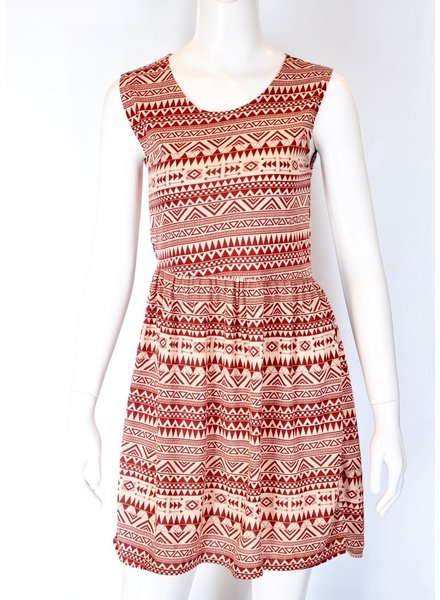 SOL DRESS MEXICO RED