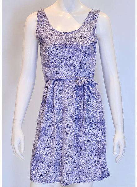 SOL DRESS SICILY BLUE