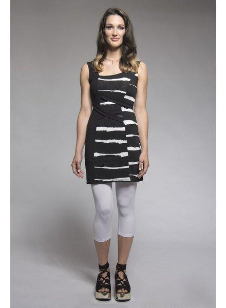 MYCO ANNA TUNIC GUADELOUPE ZEBRURES BLACK / WHITE