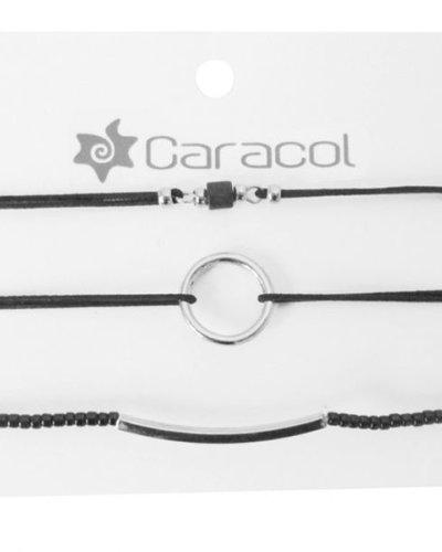 CARACOL BRACELET RIGIDE ARGENTÉ