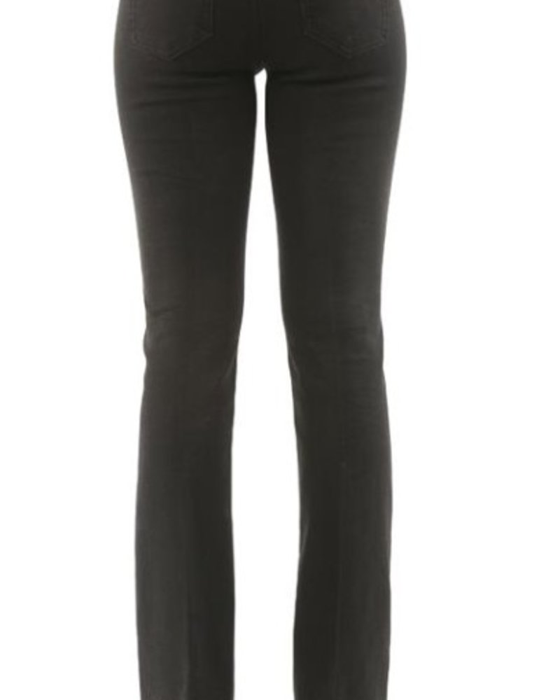 BECXY B. JEANS RILEY PULL ON STRAIGHT NOIR