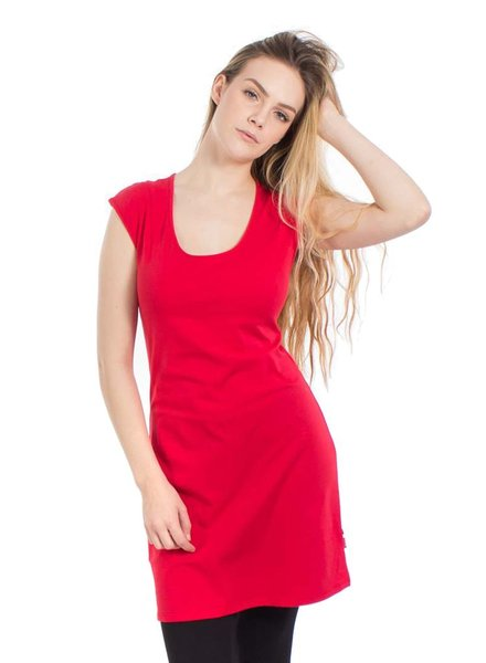OOM OMM DRESS / TUNIC PATRICIA TOMATO