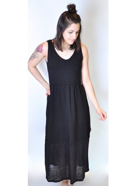 OOM LONG DRESS GABRIELLE BLACK