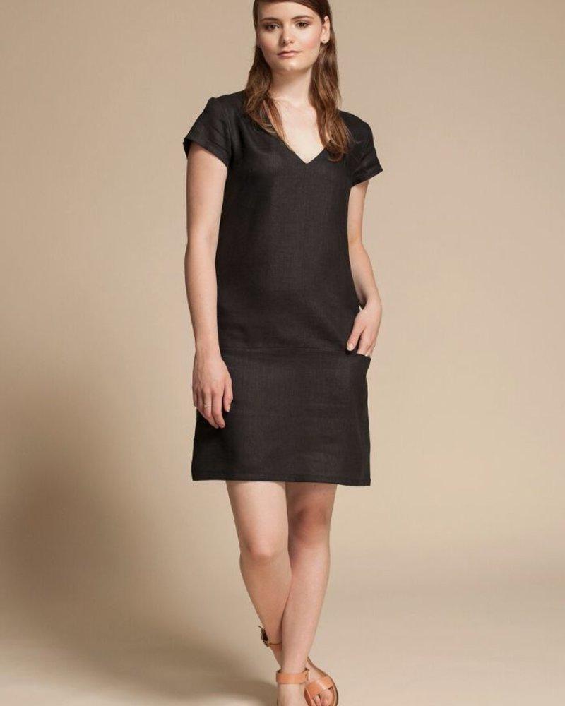 JENNIFER GLASGOW BLACK RAPTURE DRESS