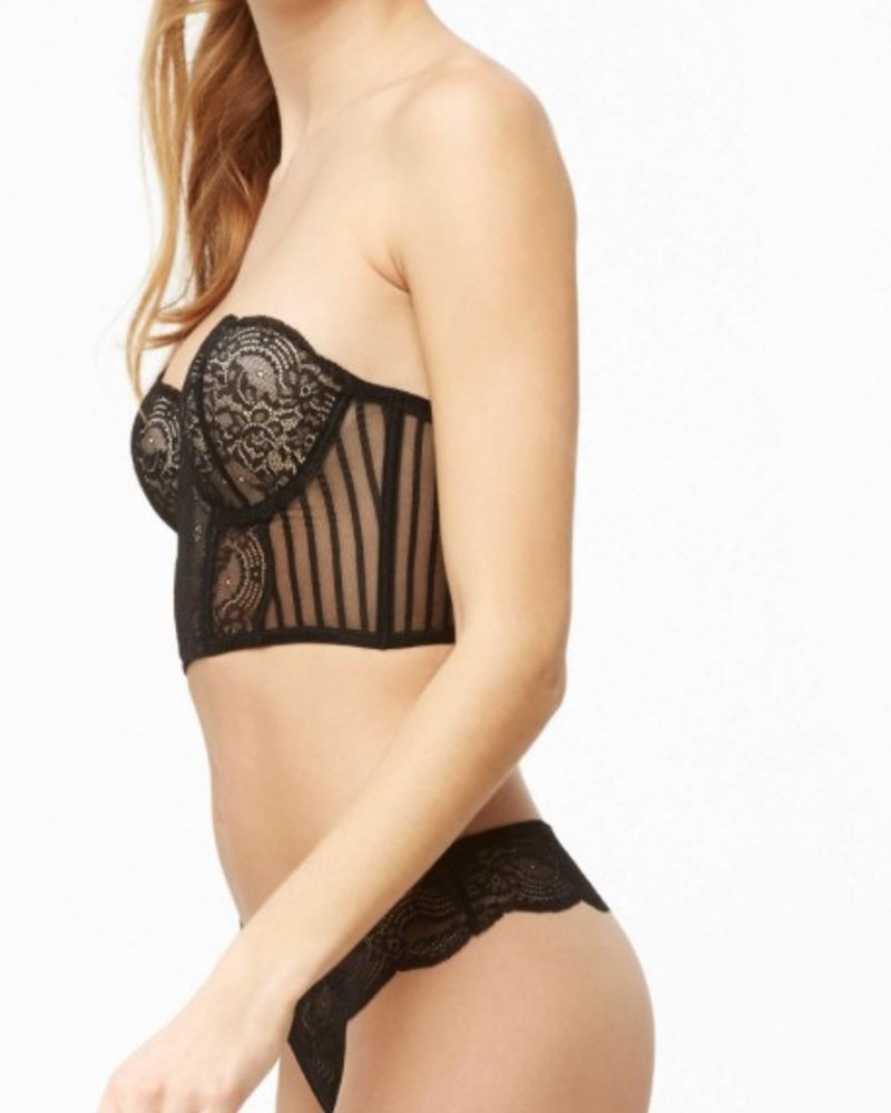 BLUSH BRASSIERE BRETELLES REMOVABLE BLACK