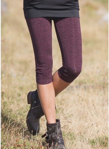 LEGGINGS SPECTRUM ¾ PURPLE