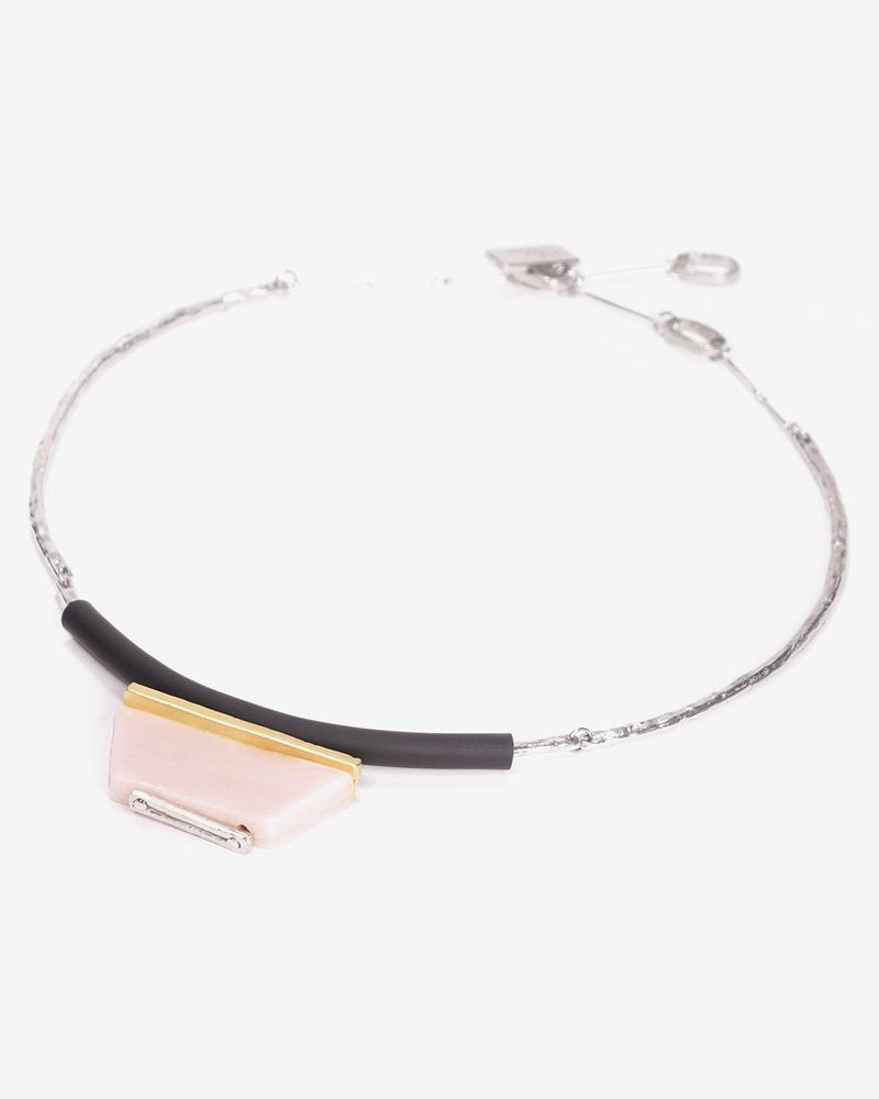 ANNE MARIE CHAGNON COLLAR FERREL BLUSH