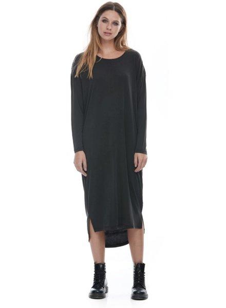 FASHION/OVERLOAD ROBE OVERSIZE DRESS NOIR