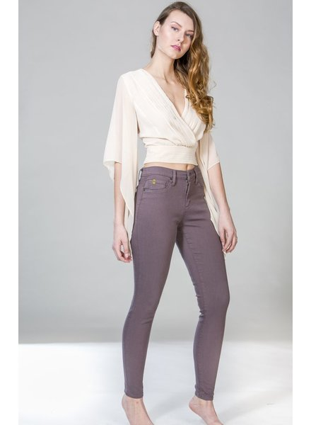 YOGA JEANS JEANS SKINNY SHARK/TAUPE