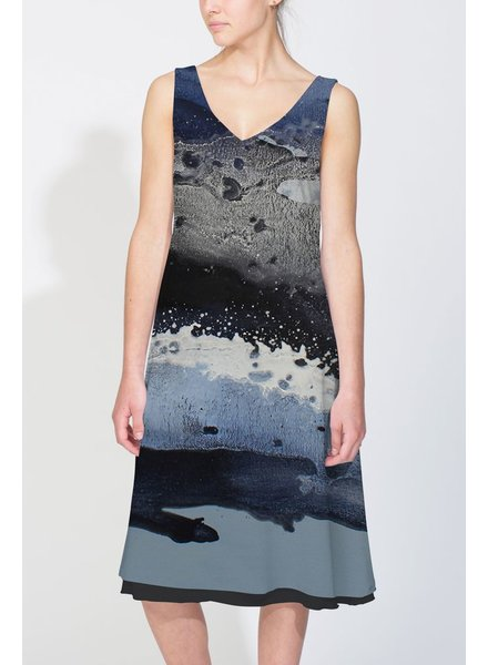 LE GALERISTE SWELL DRESS BY LINDA CELESTIAN (WILMINGTON, USA)