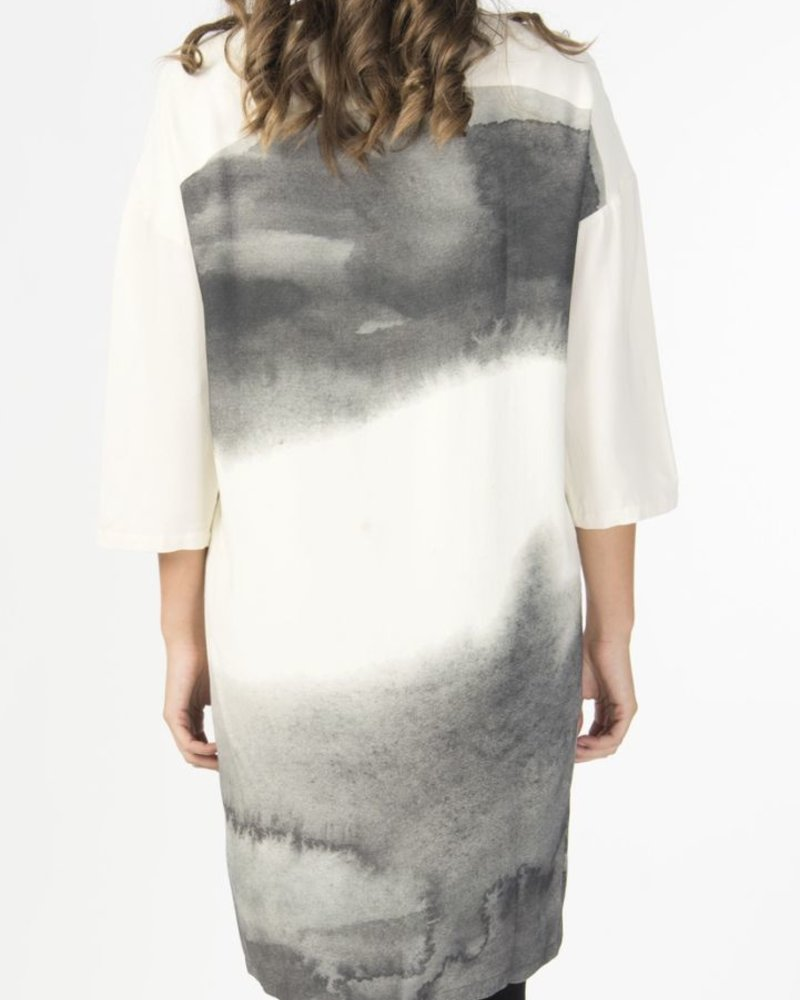 SKUNKFUNK DRESS EZKURRA IVORY
