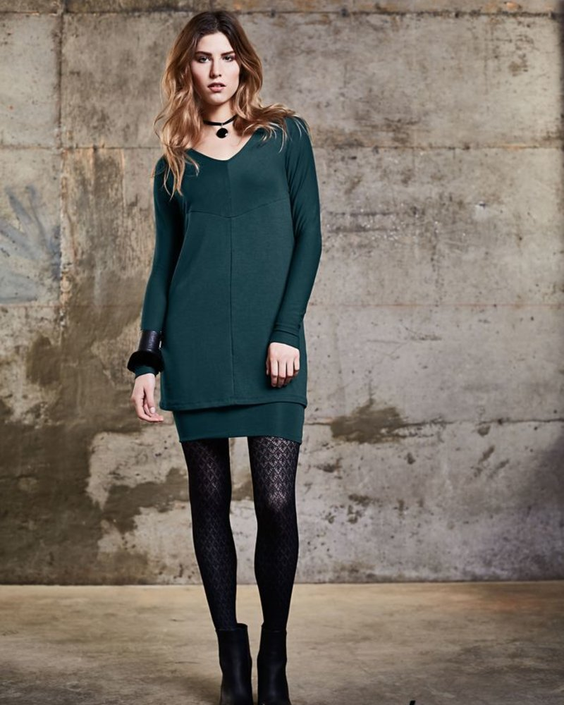 MELOW DESIGN DOUBLE AND REVERSIBLE USMAN TUNIC DRESS / SARCELLE